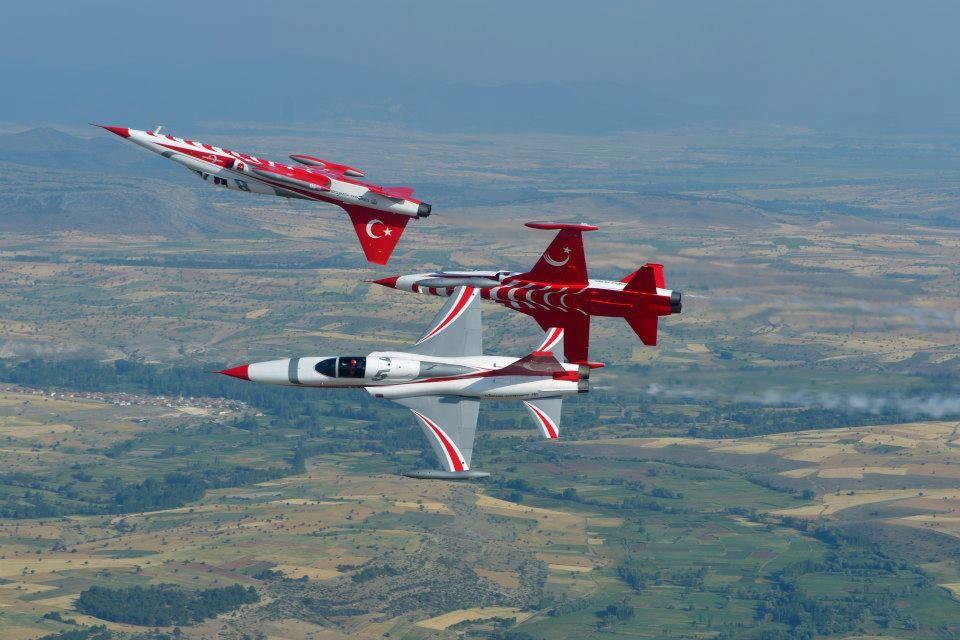 Turkish Air Force U0026quot Turkish Stars U0026quot Northrop Canadair NF 5A