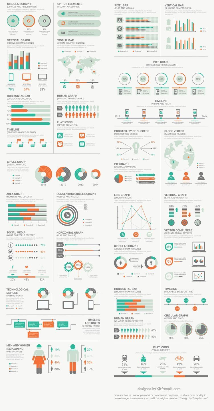 Pin by Yuchen Li on ux Free infographic elements