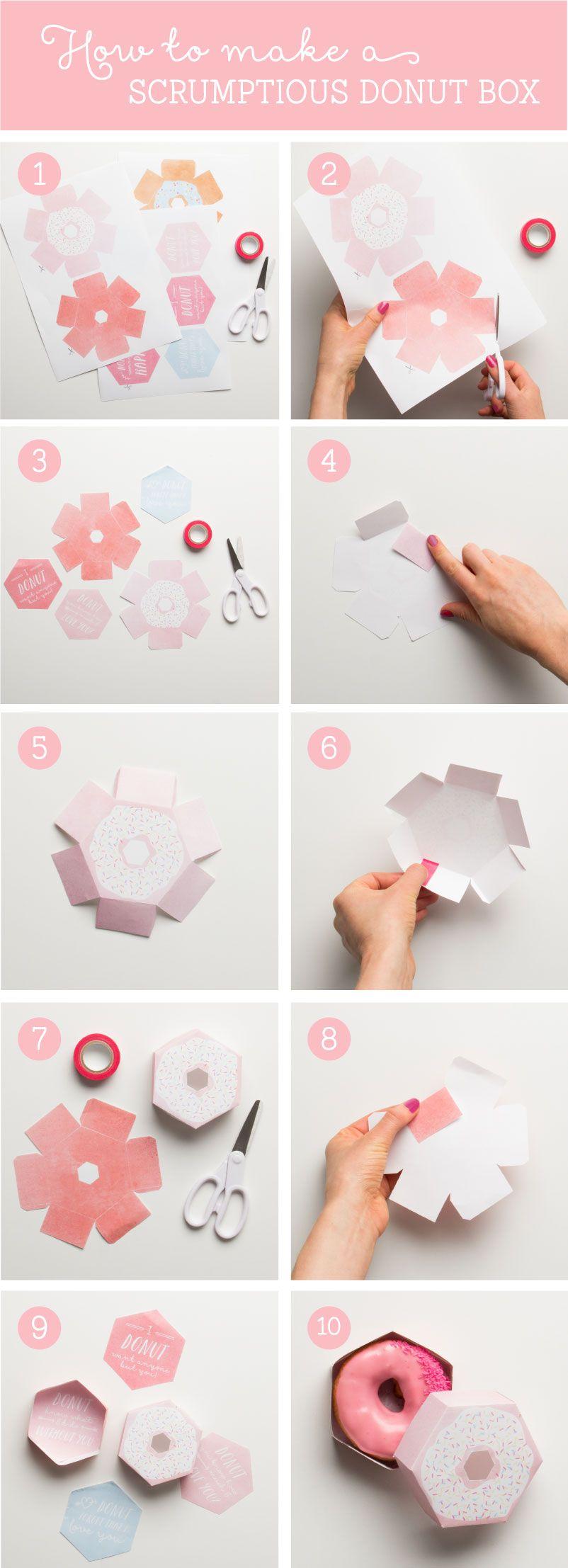 go nuts for donuts printables para imprimir. Black Bedroom Furniture Sets. Home Design Ideas