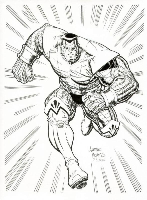 Colossus by Arthur Adams