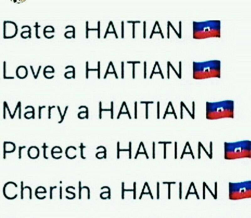 How Is It Dating A Haitian Man