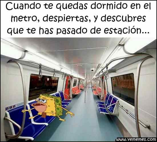 ★★★★★ Memes caras chistosas: Cuando te duermes en el metro y… I➨ http://www.diverint.com/memes-caras-chistosas-duermes-metro/ →  #fotosymemesgraciosos #memesfotoschistosas #memesgraciosos #vermemesenespañol #videosdememesenespañollatino