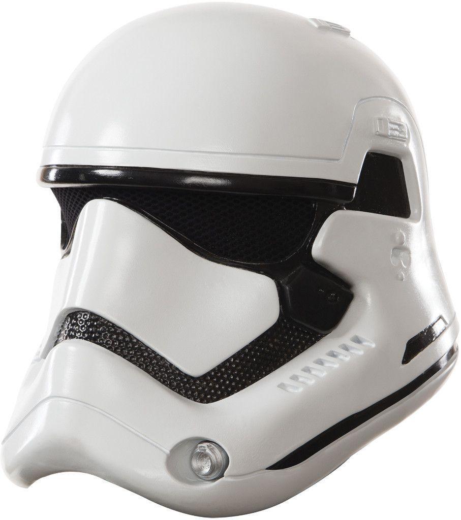 costume mask: stormtrooper 2 piece mask