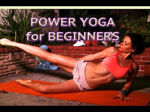 power yoga for beginners abs core legs strength upper body