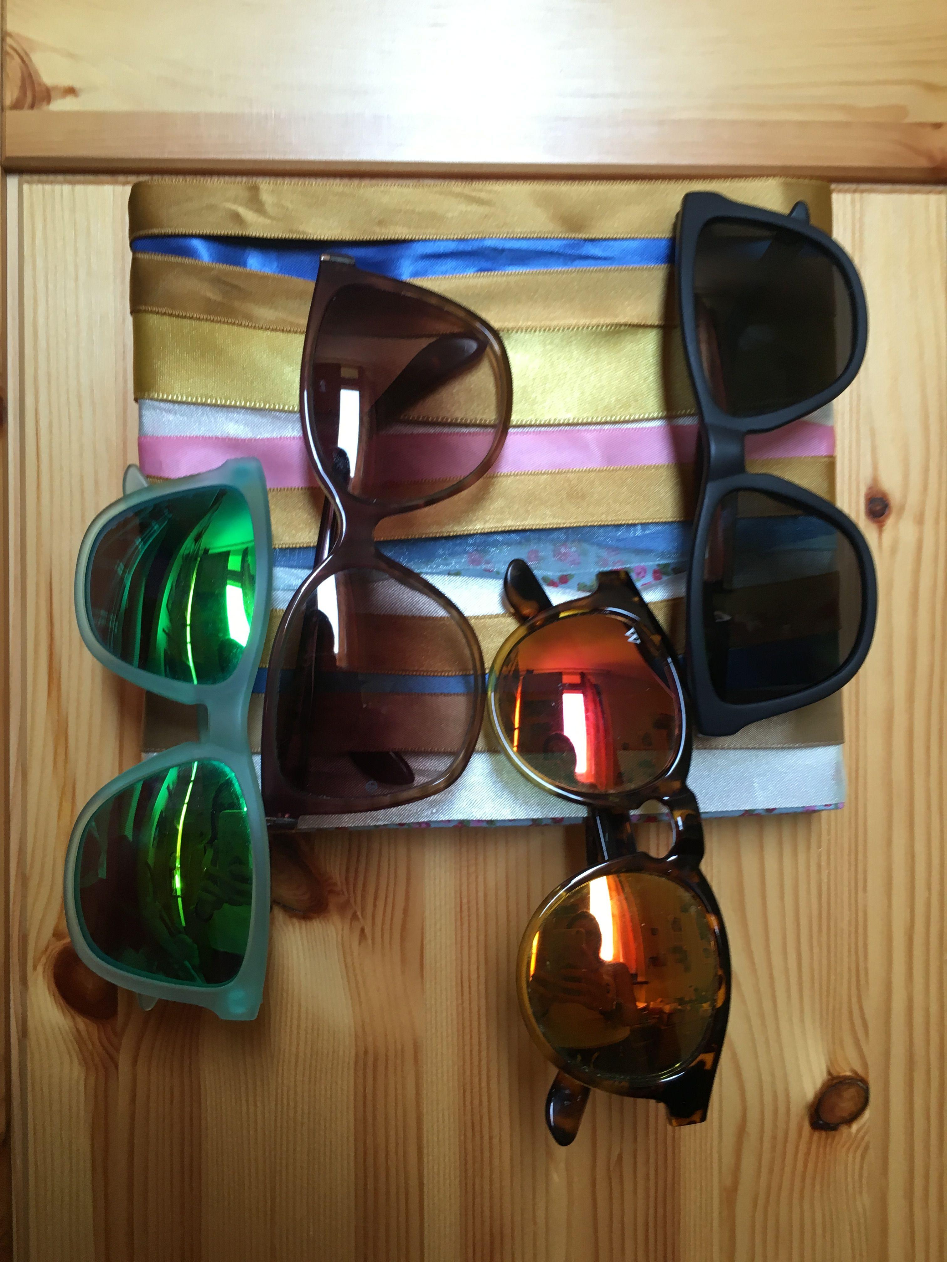 Porta occhiali fai da te – Sunglasses frame holder diy
