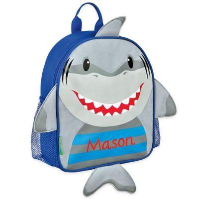 71ed0804cdec Stephen Joseph Shark Mini Sidekick Backpack In Grey | Products in ...