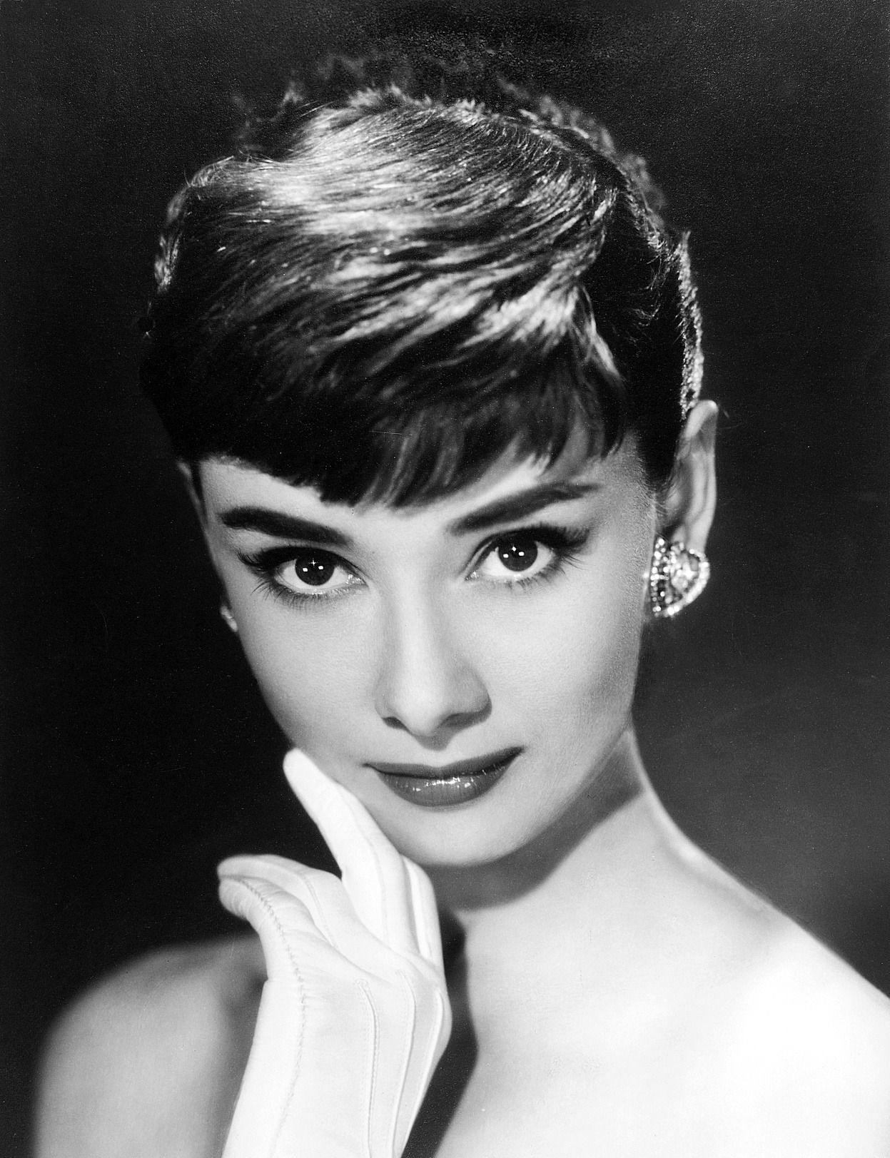 Audrey Hepburn, 1953, publicity photo for Roman Holiday ...