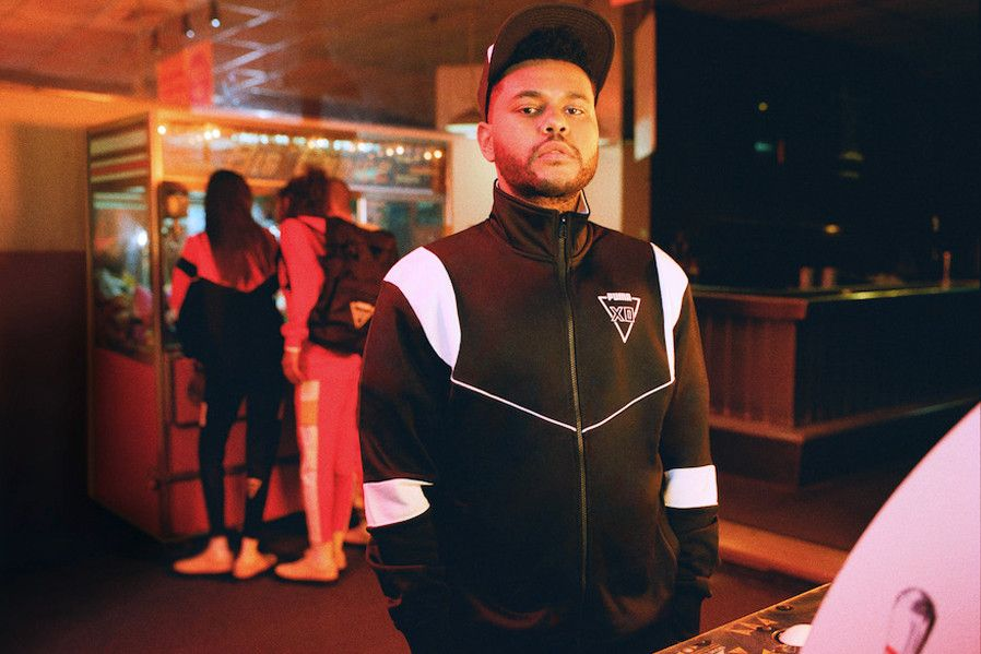 The Weeknd's PUMA x XO FW18 Collection
