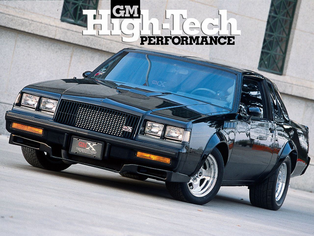 Buick Gnx Takes Me Back To Il In The S Street Racing