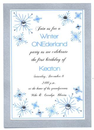Winter onederland invitation example winter onederland birthday winter onederland invitation example filmwisefo Image collections