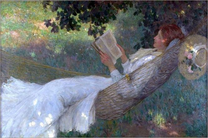 A Love Story - Emanuel Phillips Fox (australian painter)