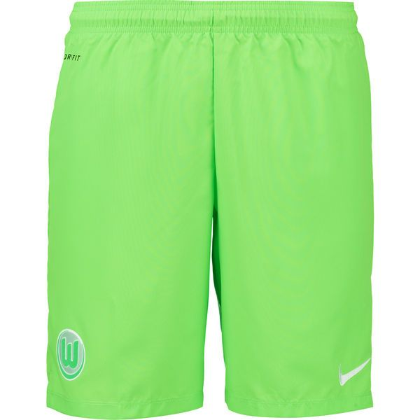 117f0582522f VfL Wolfsburg Nike 2016 17 Away Performance Shorts - Green -  44.99 ...