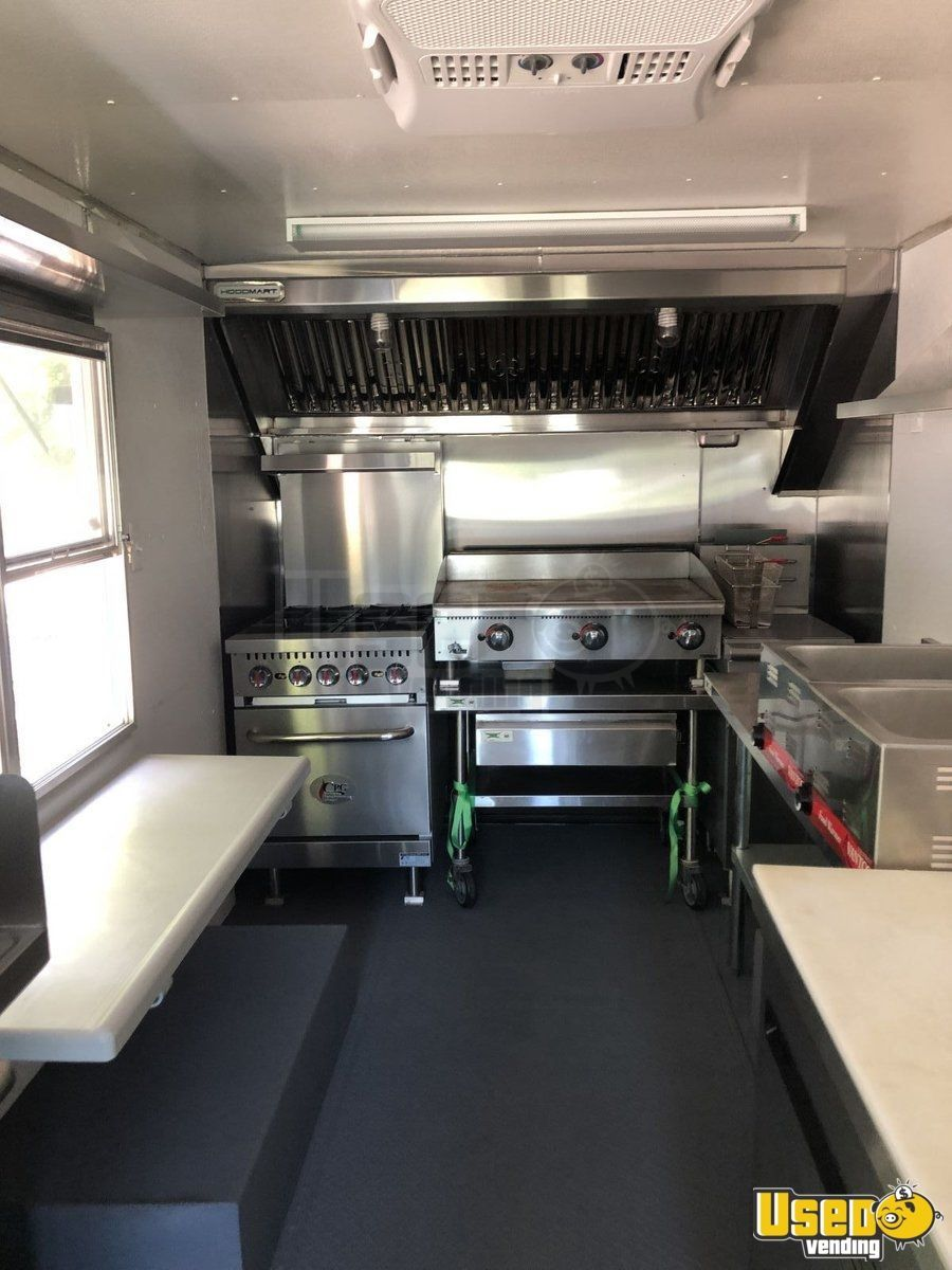 Gmc p30 mobile kitchen food truck for sale in south