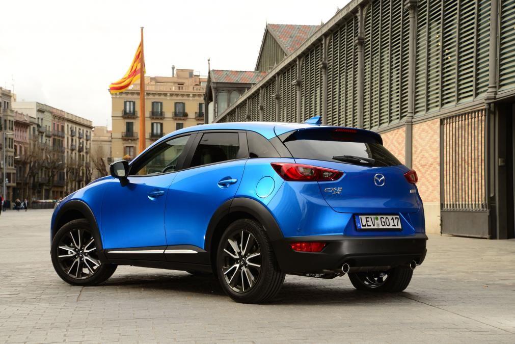 Mazda CX3 rear static Mazda