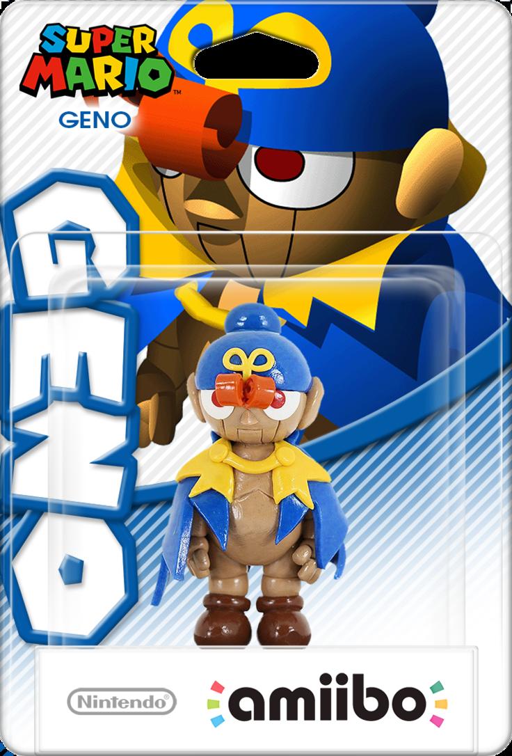 SMRPG Geno Amiibo Box Art Mockup by DarkSSJShinji | Video games