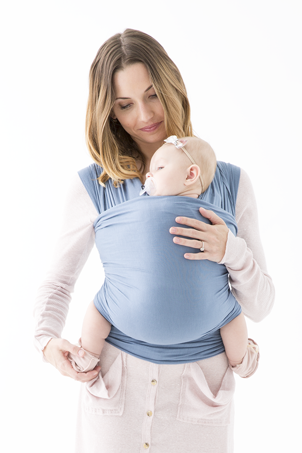 The Solly Baby Wrap In Baltic Baby Wearing Baby Wrap Carrier