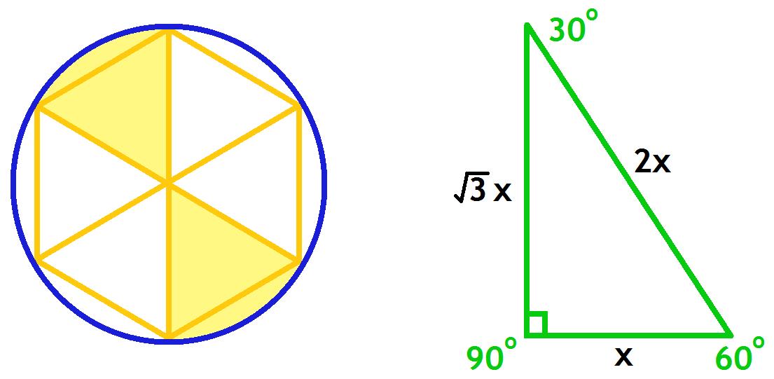 inscribed circles and hexagons allenamenti di matematica geometry problems inscribed circle. Black Bedroom Furniture Sets. Home Design Ideas
