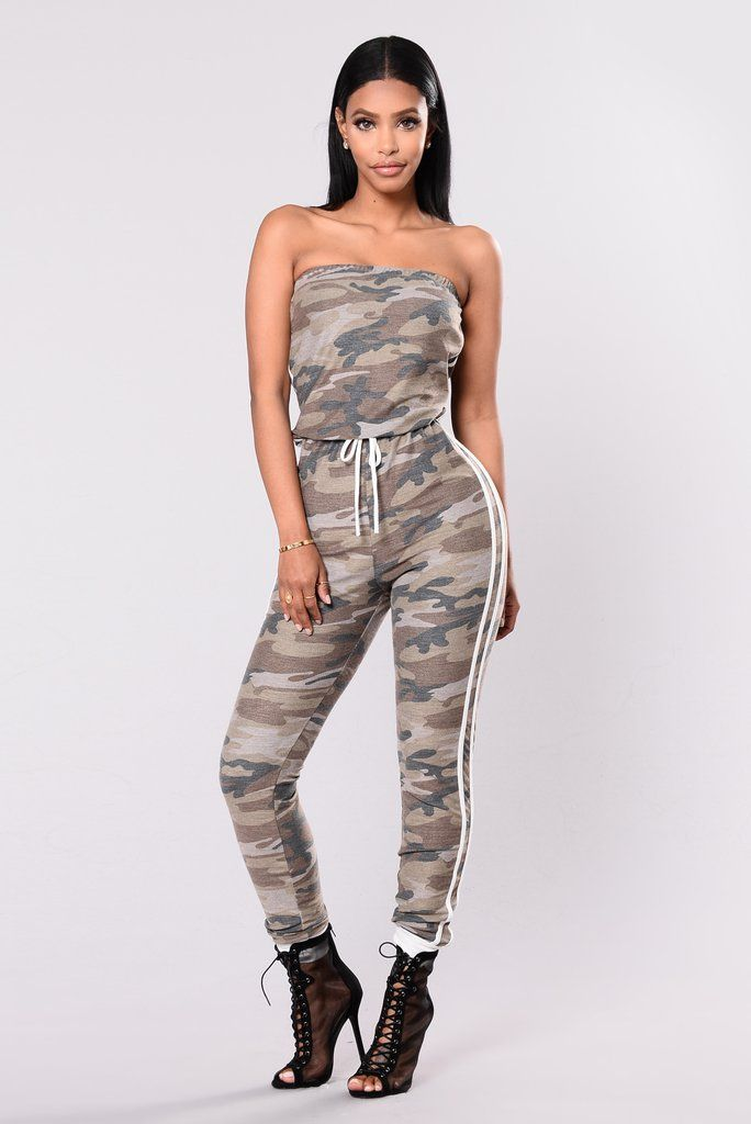 aaf2cdbeb15 Love In Disguise Jumpsuit - Camouflage White