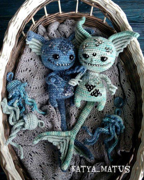 Nightmare toys   Amigurumi   Pinterest   Häkeln, Stricken und Häckeln
