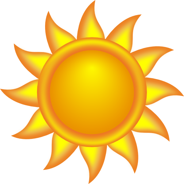 sun clipart decorative sun clip art vector clip art online rh pinterest com clipart of the sun rising clipart of the sun rising