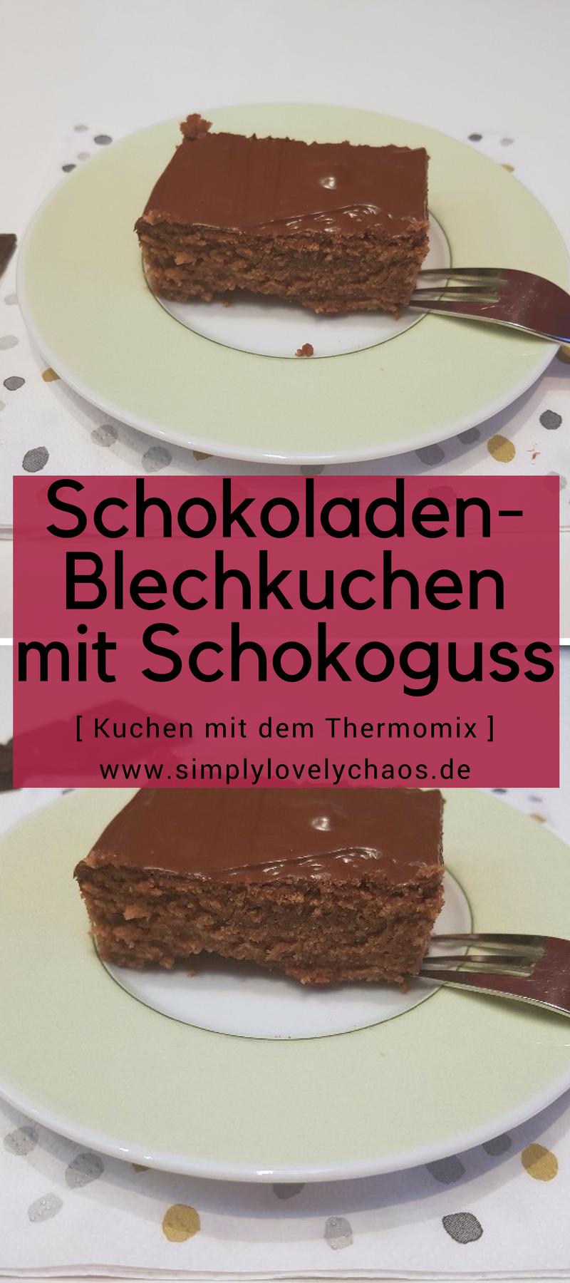 Schneller blechkuchen im thermomix
