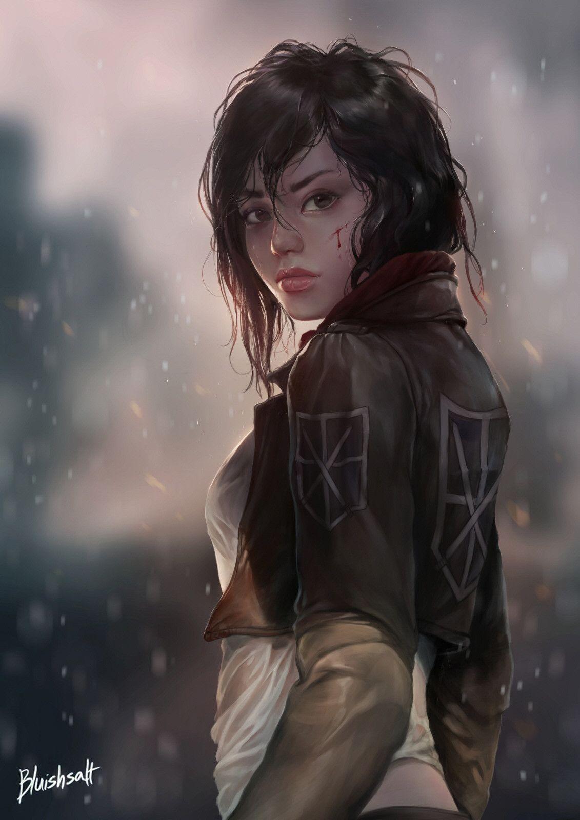 Mikasa Ackerman, Bluish Salt