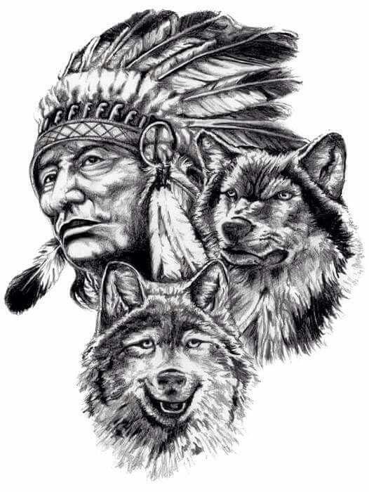 Charcoal Tatuagens Indigenas Americanas Tatuagem India