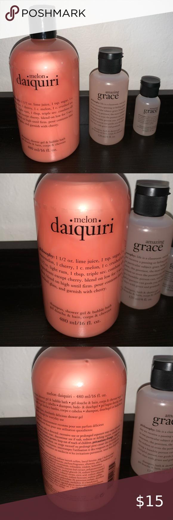 Philosophy Shampoo Shower Gel Bubble Bath Shower Gel Gel Bubble Bath