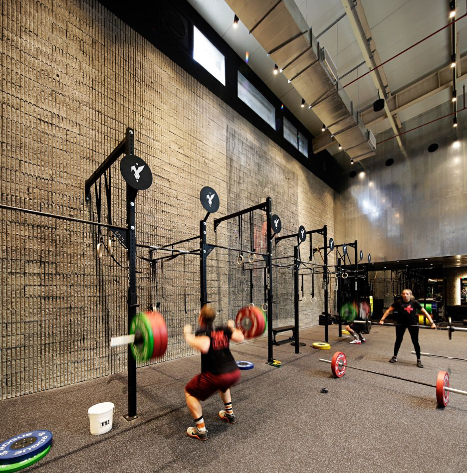 Lab100 Design Studio creates Kuwait boxing gym | Retro gym, Boxing ...