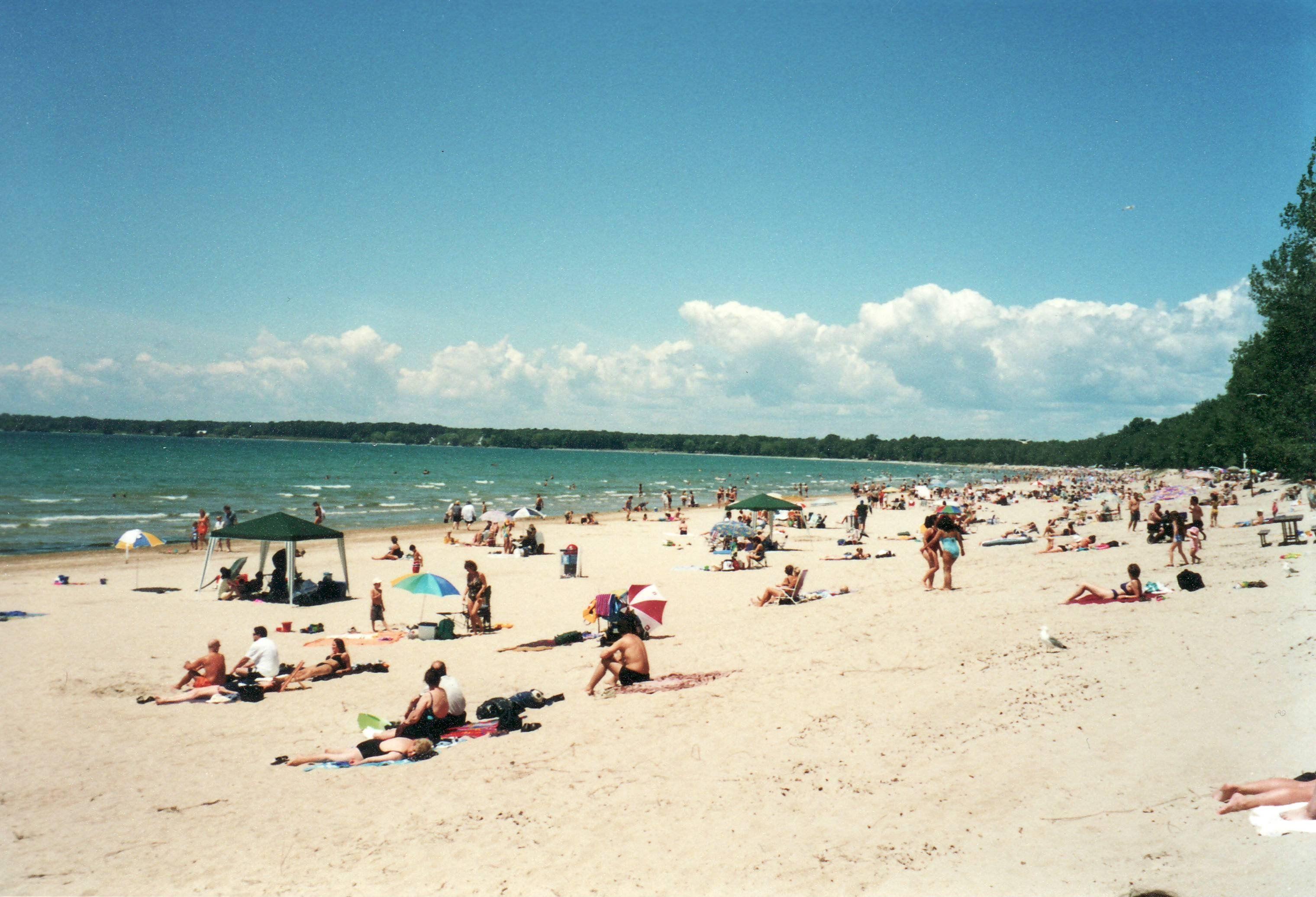 Picton Sandbanks Provincial Park Ontario The Beach Along Lake Ontario Fantastic
