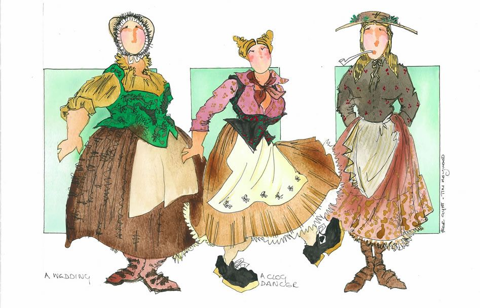 Tim Heywood Costume Designer Theatre Set Designer Webpage Costume Design Theatre Costumes Sketches