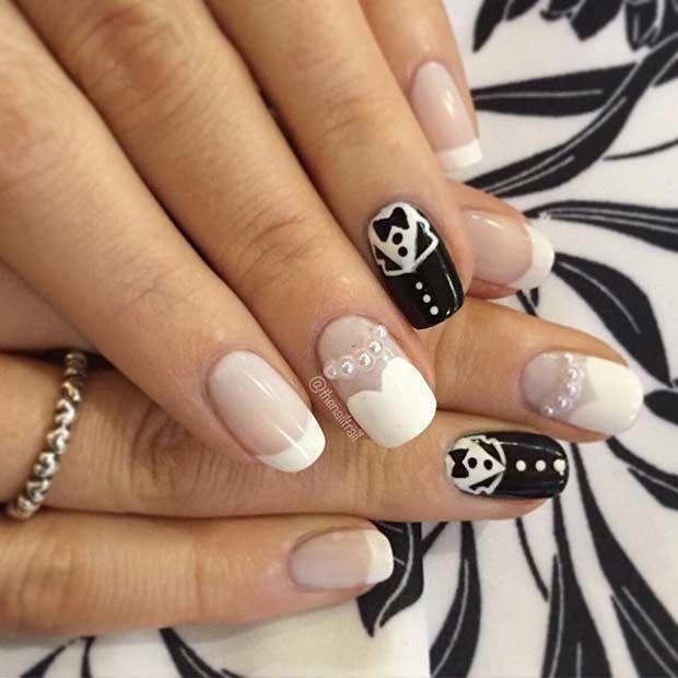 31 Elegant Wedding Nail Art Designs | Wedding nails art, Wedding ...