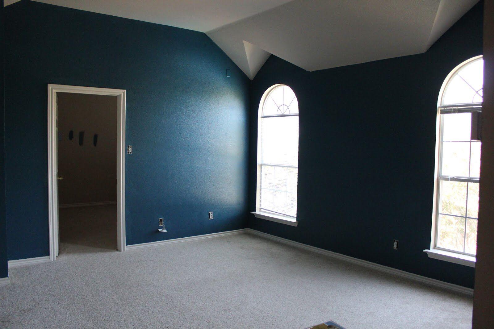 Behr Bermudan Blue Inspiration For Bedroom Color Scheme