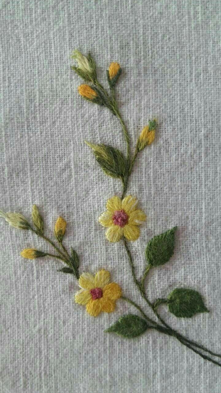 how to do brazilian embroidery stitches #Brazilianembroidery - #brazilian #Brazilianembroidery #Embroidery #Stitches