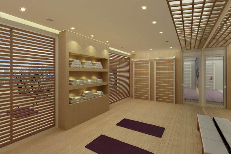 Sala De Yoga Buscar Con Google Yoga Studio Design Yoga Meditation Room Comercial Interior Design