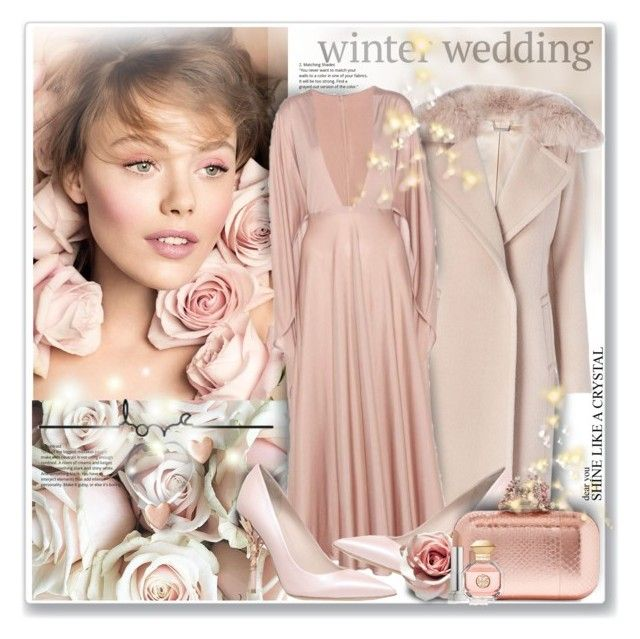 """""""Winter Wedding"""" by sneky ❤ liked on Polyvore featuring Diane Von Furstenberg, Valentino, RALPH & RUSSO, Jimmy Choo, Maybelline, Tory Burch and winterwedding"""