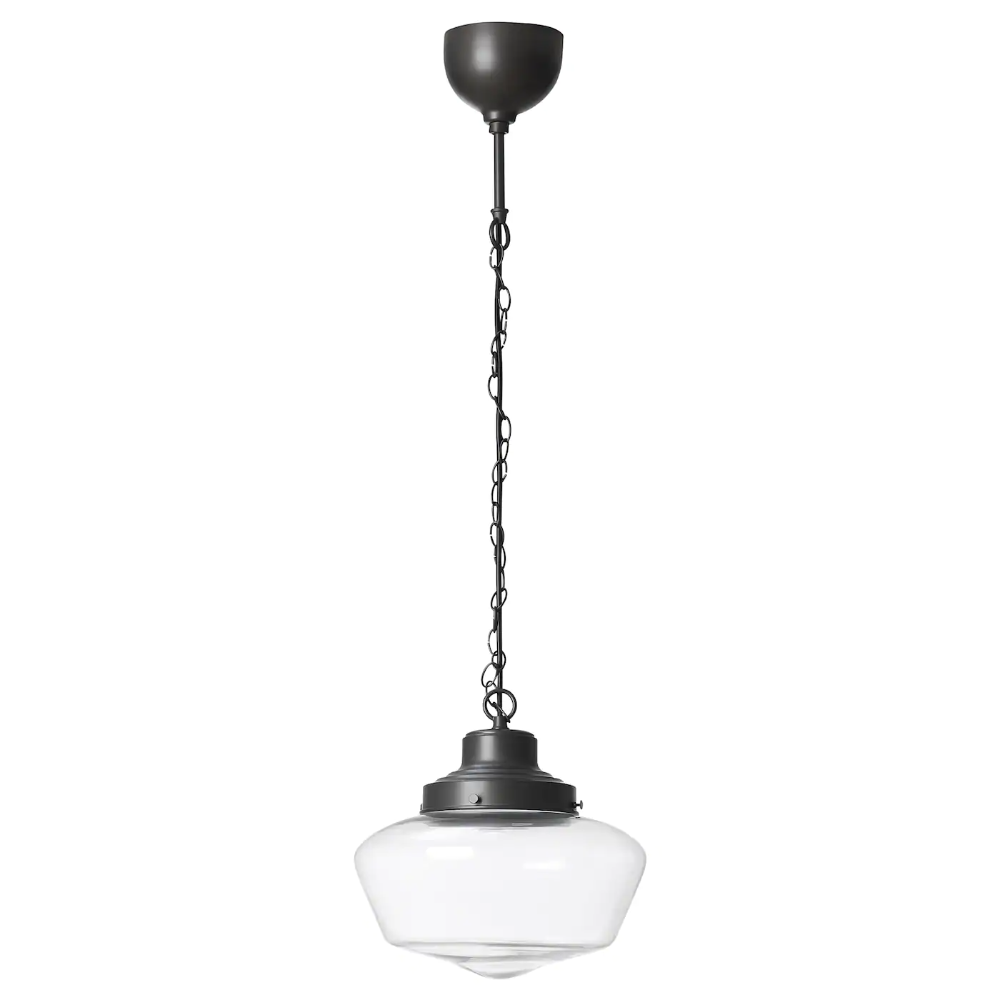 Maglarp Pendant Lamp Bronze Color Glass Ikea In 2020 Pendant Lamp Glass Pendant Lamp Ikea Lighting