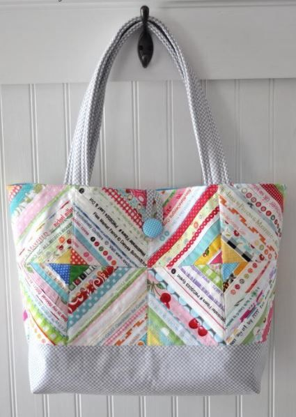 Summer Sewing 7 Quilted Tote Bag Patterns Sewing Pinterest