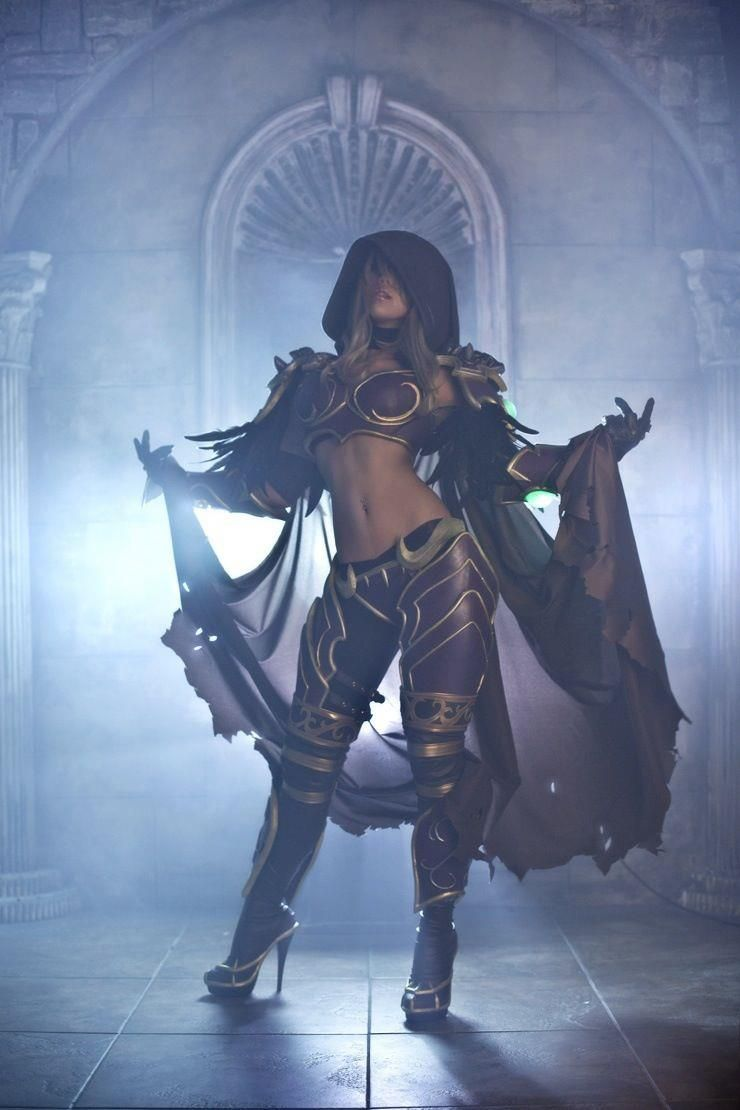 Wow sylvanas cosplay porno picture