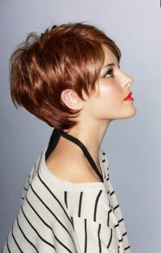 Short Hairstyles For Thick Hair Interesting 60 Classy Short Haircuts And Hairstyles For Thick Hair  Thicker