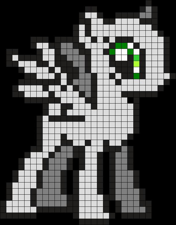 My Little Pony Base Perler Bead Pattern / Bead Sprite | ♡ perler ...