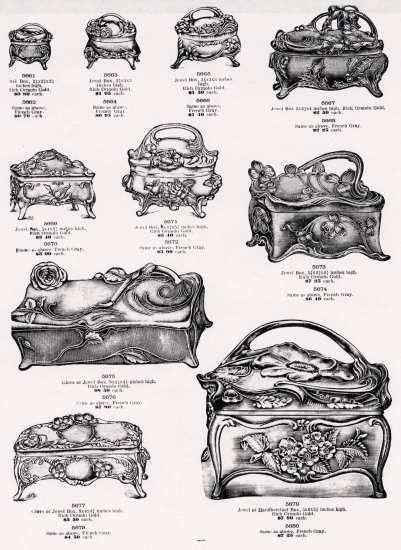 Austin N. Clark & Company Jewelry Catalog, Chicago, IL