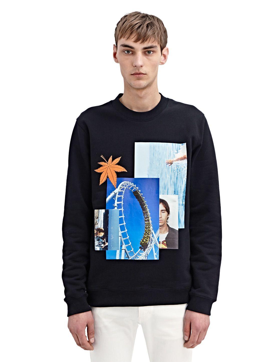 NEW SEASON – Raf Simons Mens Rollercoaster Sweater