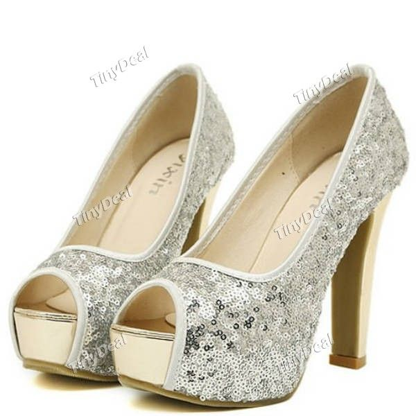 http://www.tinydeal.com/it/party-queen-peep-toe-sequin-sexy-pumps-for-women-p-103764.html Party Queen Peep Toe Sequin Sexy Pumps for Women