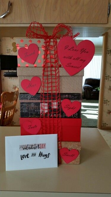 Valentine S Day 5 Senses Gift Anniversary Photos Diy Birthday Gifts For Him Valentine