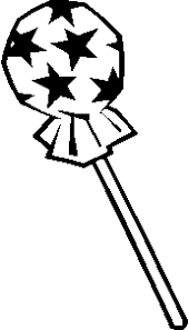 image result for lollipop clipart black and white free school