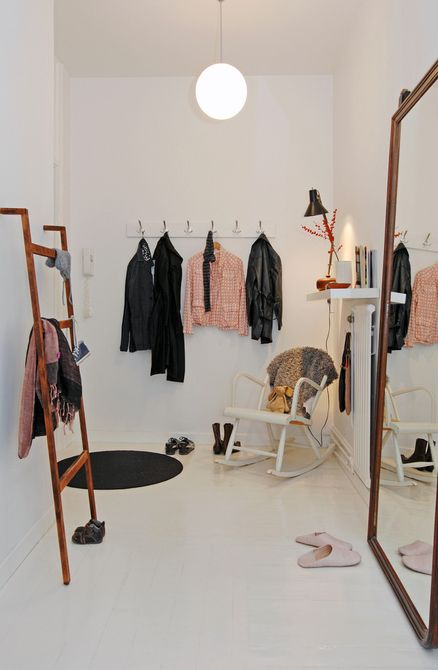 would love this wardrobe room.