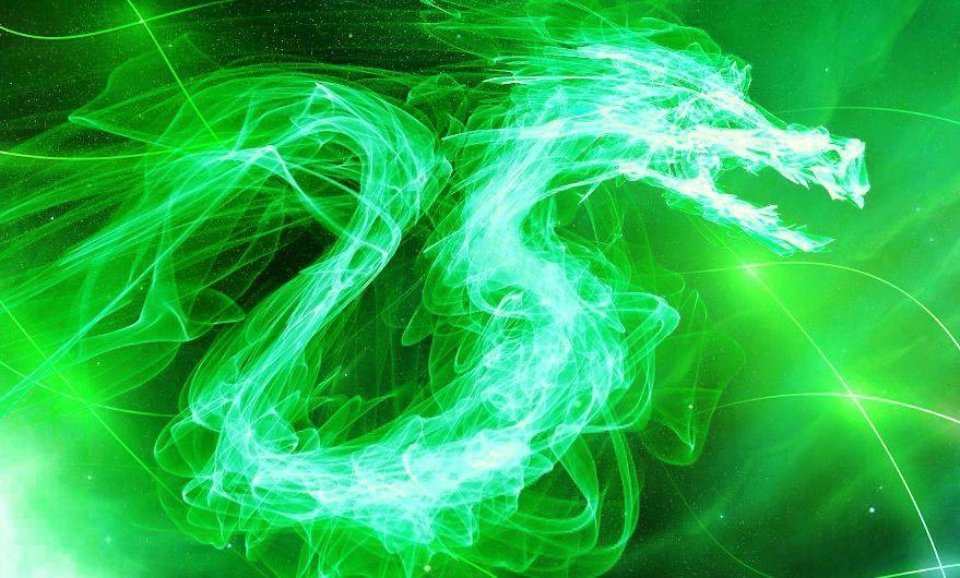 Pin By Barbara Babs Joan Gordon Aka On Dragons Green Dragon Green Aesthetic Fire Dragon Cool green dragon wallpapers