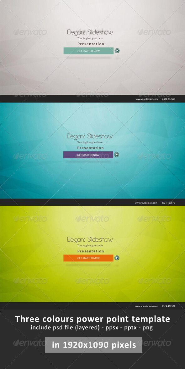 Elegant Presentation Power Point Business powerpoint templates