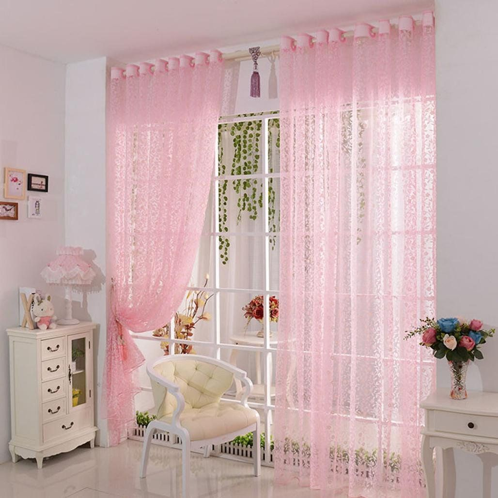 vorhang ddlbiz druck blumen voile t r vorhang fenster paravent schal curtains. Black Bedroom Furniture Sets. Home Design Ideas